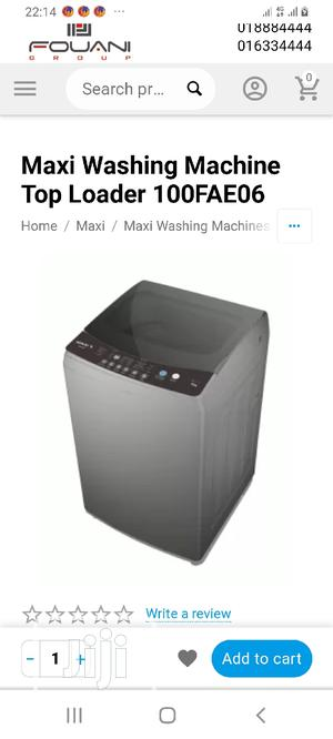 Maxi FULL Automatic Washing Machine 10kg | Home Appliances for sale in Abuja (FCT) State, Gwagwalada