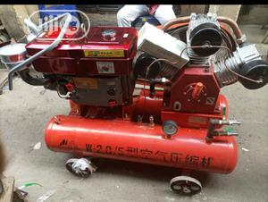 Mobile Air Compressor 25hp | Manufacturing Equipment for sale in Lagos State, Ojo