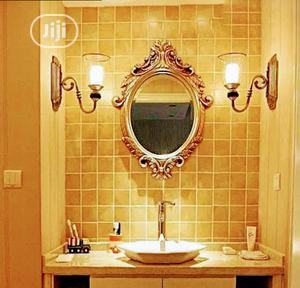Wall Gold Design Mirror | Home Accessories for sale in Lagos State, Lekki