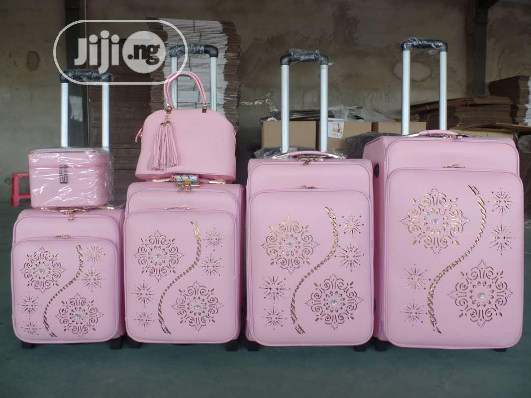 Archive: Unique Travelling Bags Set Of 6.