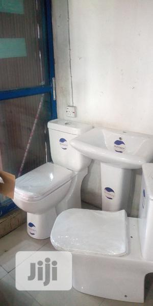 England WC With The Wash Hand Basin And Standing | Plumbing & Water Supply for sale in Lagos State, Orile