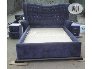 Fabric Upholstery Chester Feild Design Bed | Furniture for sale in Lagos State, Surulere