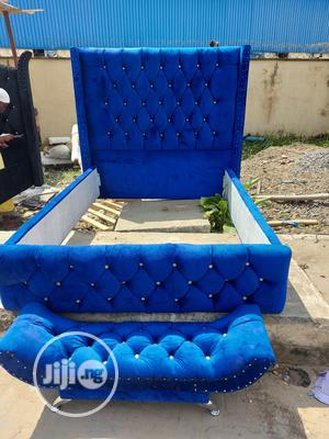 4nd Half by 6 Upholstery Bed Frame | Furniture for sale in Lagos State, Ikeja