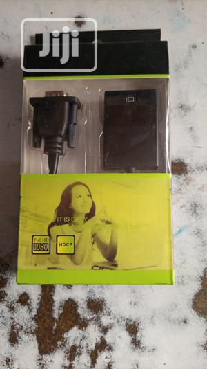VGA To HDMI Converter   Computer Accessories  for sale in Lagos State, Lekki