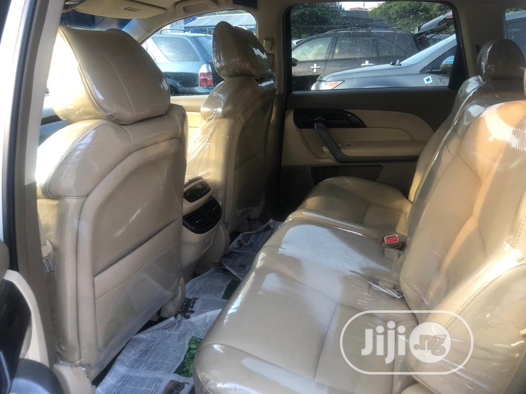 Acura MDX 2008 SUV 4dr AWD (3.7 6cyl 5A) Gray   Cars for sale in Amuwo-Odofin, Lagos State, Nigeria