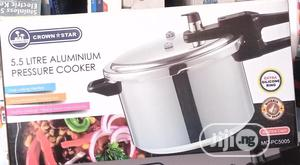 Crown Star Pressure Cooker Pot - 5.5 Litres | Kitchen & Dining for sale in Lagos State, Lagos Island (Eko)