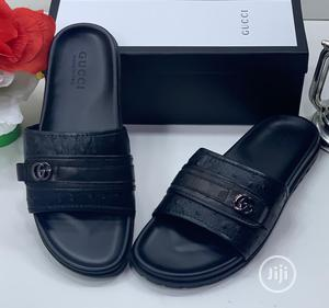 All Black Men'S Gucci Slippers | Shoes for sale in Lagos State, Lagos Island (Eko)