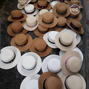Straw Beach Hats | Clothing Accessories for sale in Lagos State, Lagos Island (Eko)