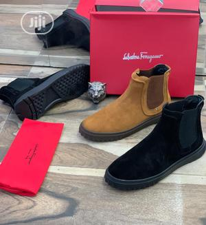 Original Salvatore Ferragamo Suede Chelsea Boots Available   Shoes for sale in Lagos State, Surulere