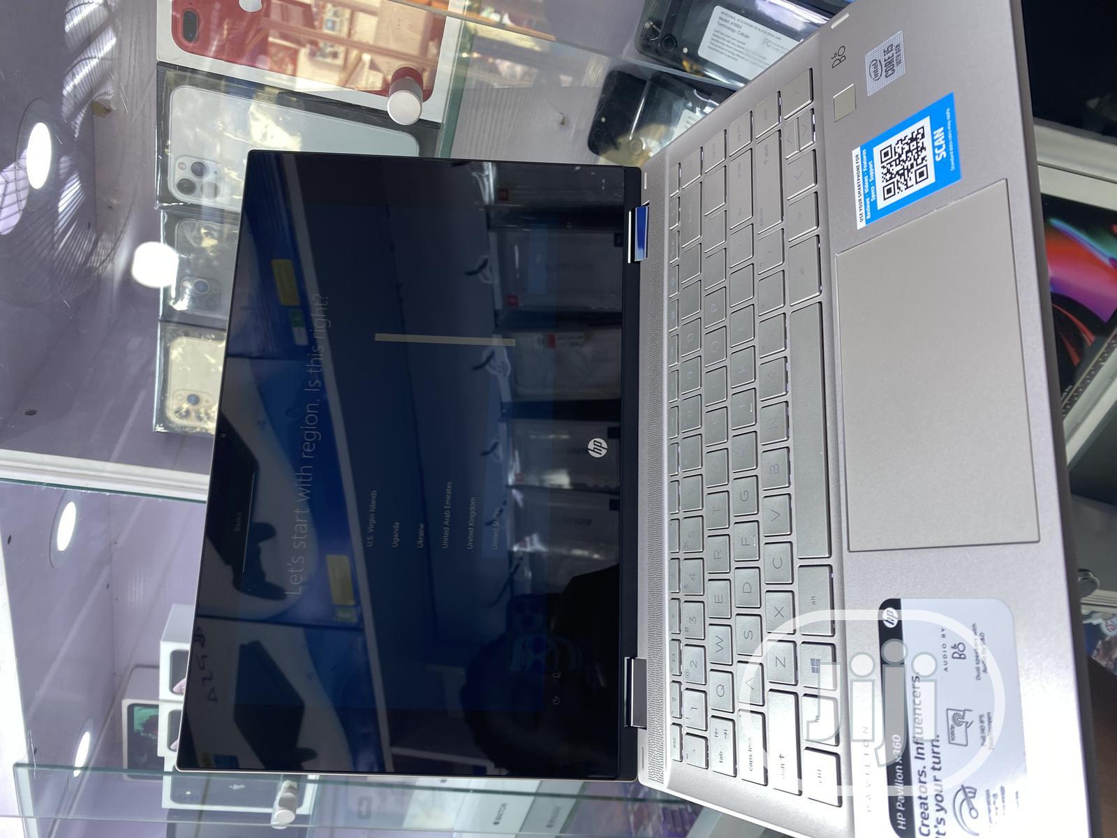 Archive: New Laptop HP Pavilion X360 8GB Intel Core I5 SSD 256GB