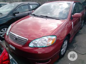 Toyota Corolla 2005 S Red | Cars for sale in Lagos State, Apapa
