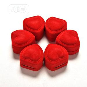 Red Heart Shaped Wedding/Proposal Ring Case | Wedding Wear & Accessories for sale in Lagos State, Ikotun/Igando