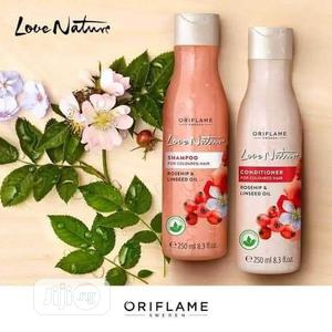 Love Nature Shampoo And Conditioner For Tinted Hair | Hair Beauty for sale in Lagos State, Ikeja