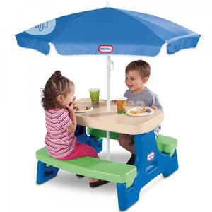 Easy Store Junior Picnic Table With Umbrella (4seater) | Children's Furniture for sale in Lagos State, Ajah