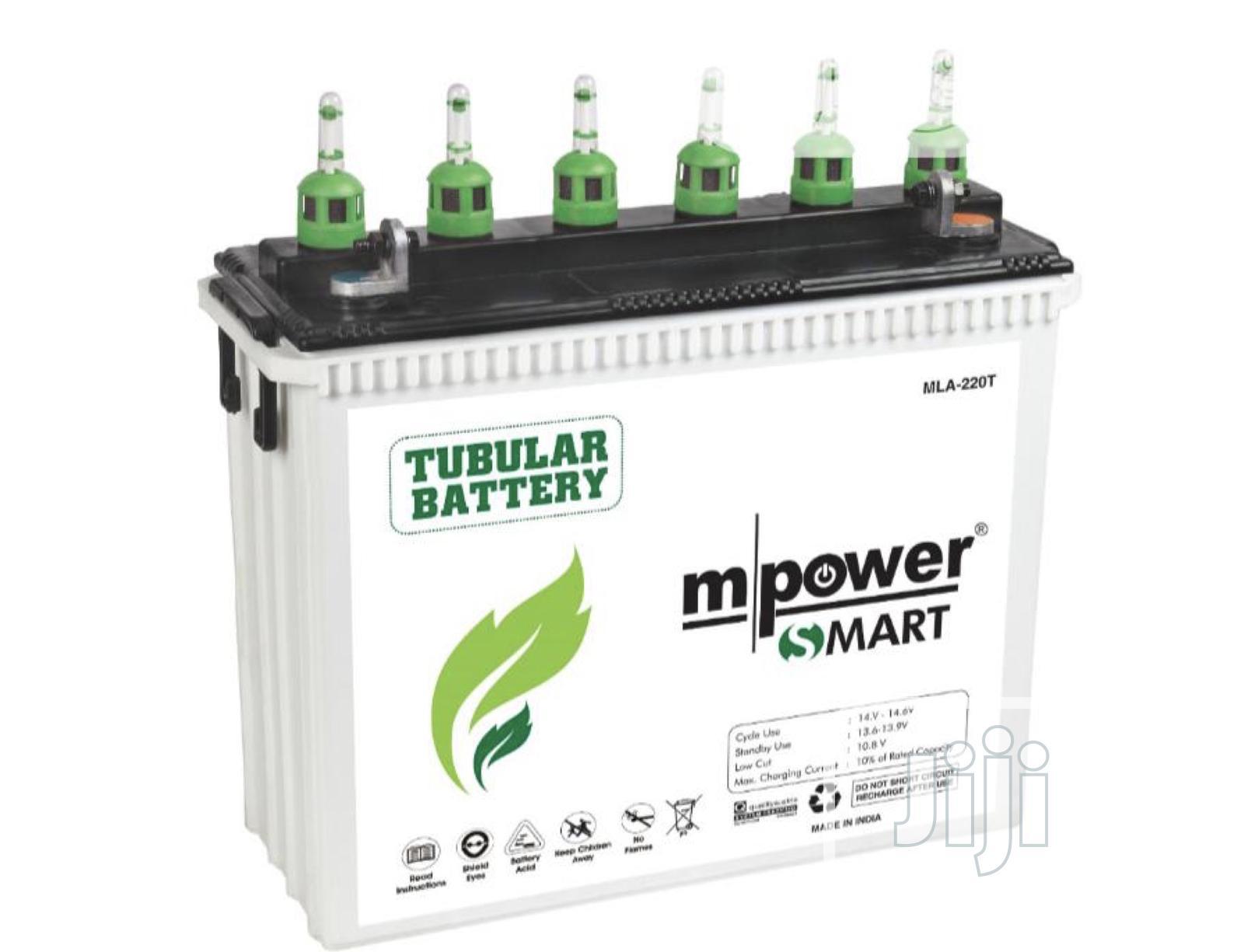 Mpower 220ah/12V Tubular Battery