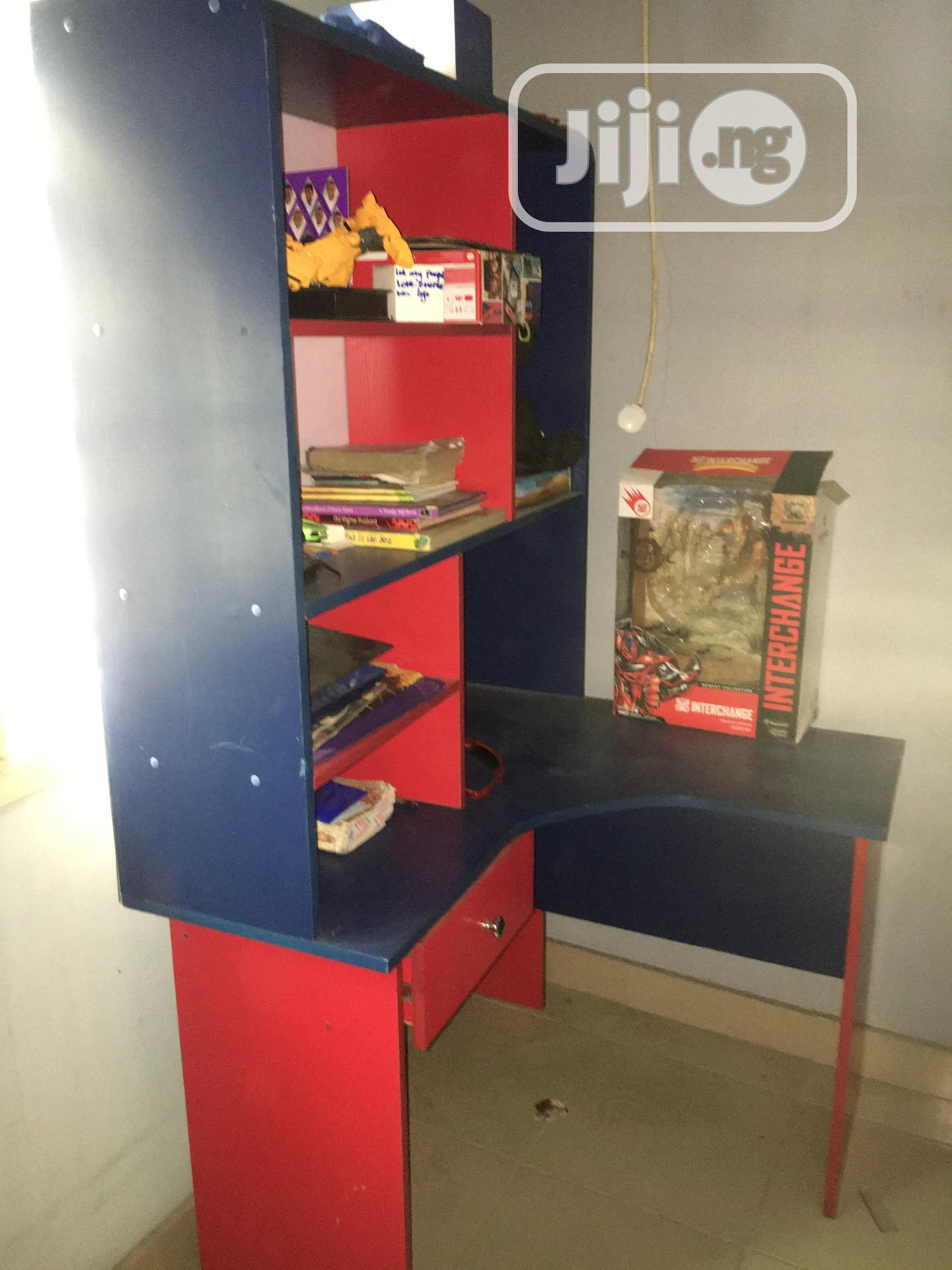 Lovely Kiddies Bookshelf And Table | Children's Furniture for sale in Magodo, Lagos State, Nigeria