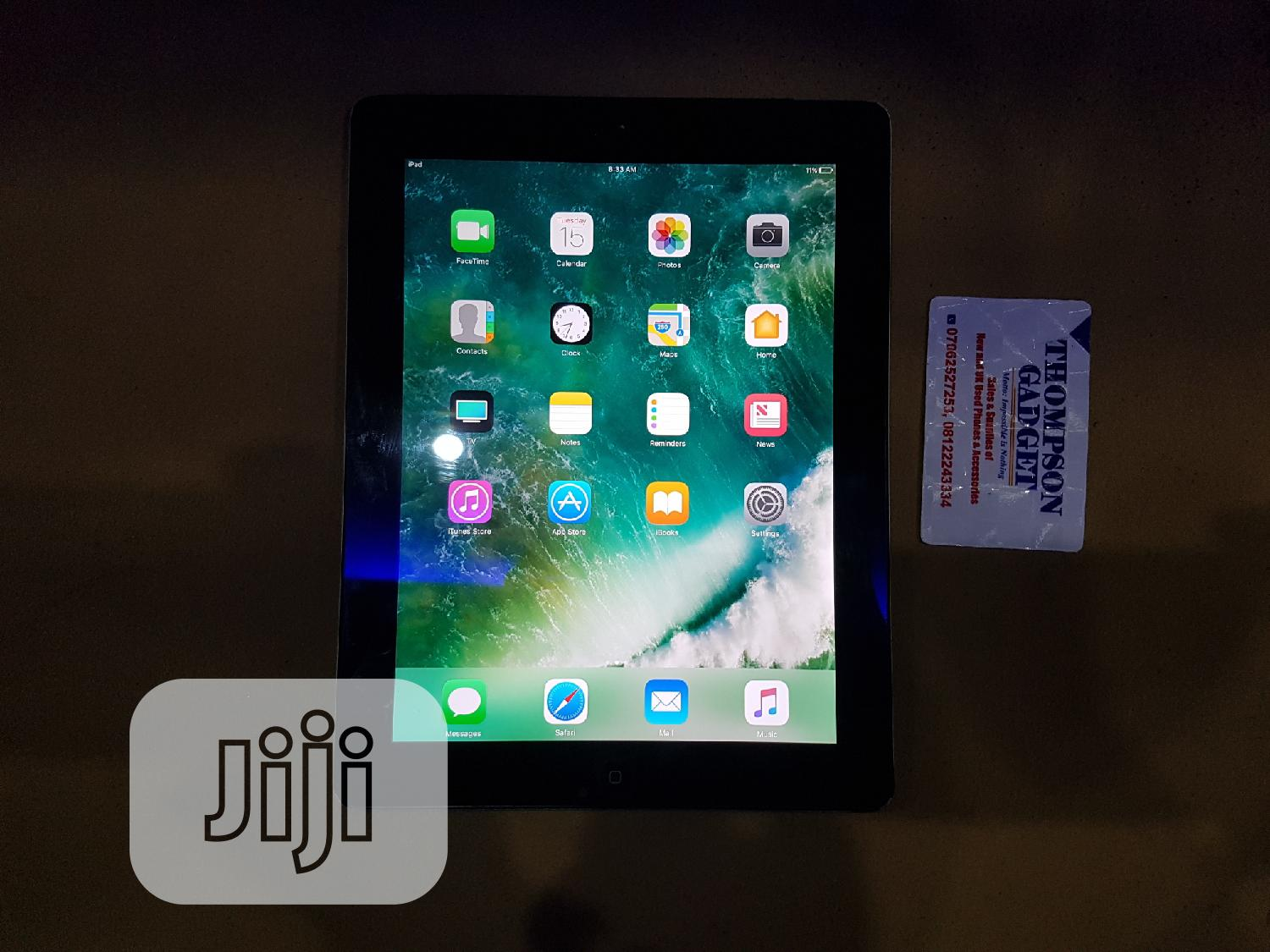 Apple iPad 4 Wi-Fi + Cellular 16 GB Silver   Tablets for sale in Wuse, Abuja (FCT) State, Nigeria
