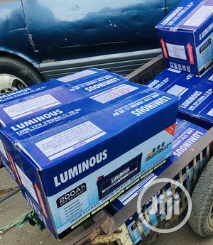Luminous 200ah 12v Solar Battery   Solar Energy for sale in Lagos State, Ikeja