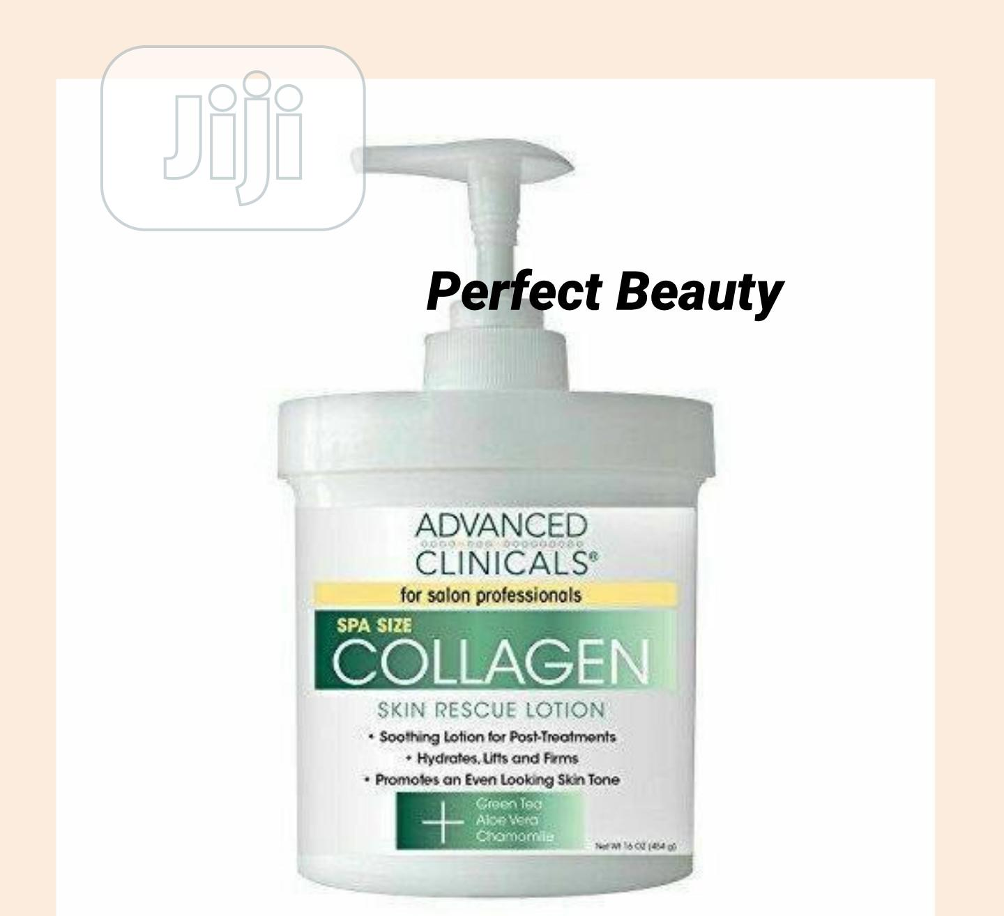 Advanced Clinicals Collagen Skin Rescue Lotion 454g