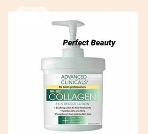Advanced Clinicals Collagen Skin Rescue Lotion 454g | Skin Care for sale in Lagos State, Ikeja