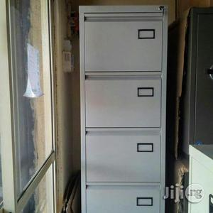 Quality Metal File Cabinet 4 Drawers | Furniture for sale in Lagos State, Ikeja