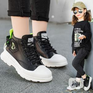 Black High Top Sneakers | Children's Shoes for sale in Lagos State, Agbara-Igbesan
