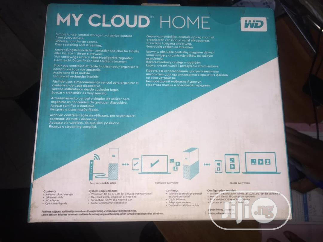 WD My Cloud Home 8TB | Computer Hardware for sale in Ikeja, Lagos State, Nigeria