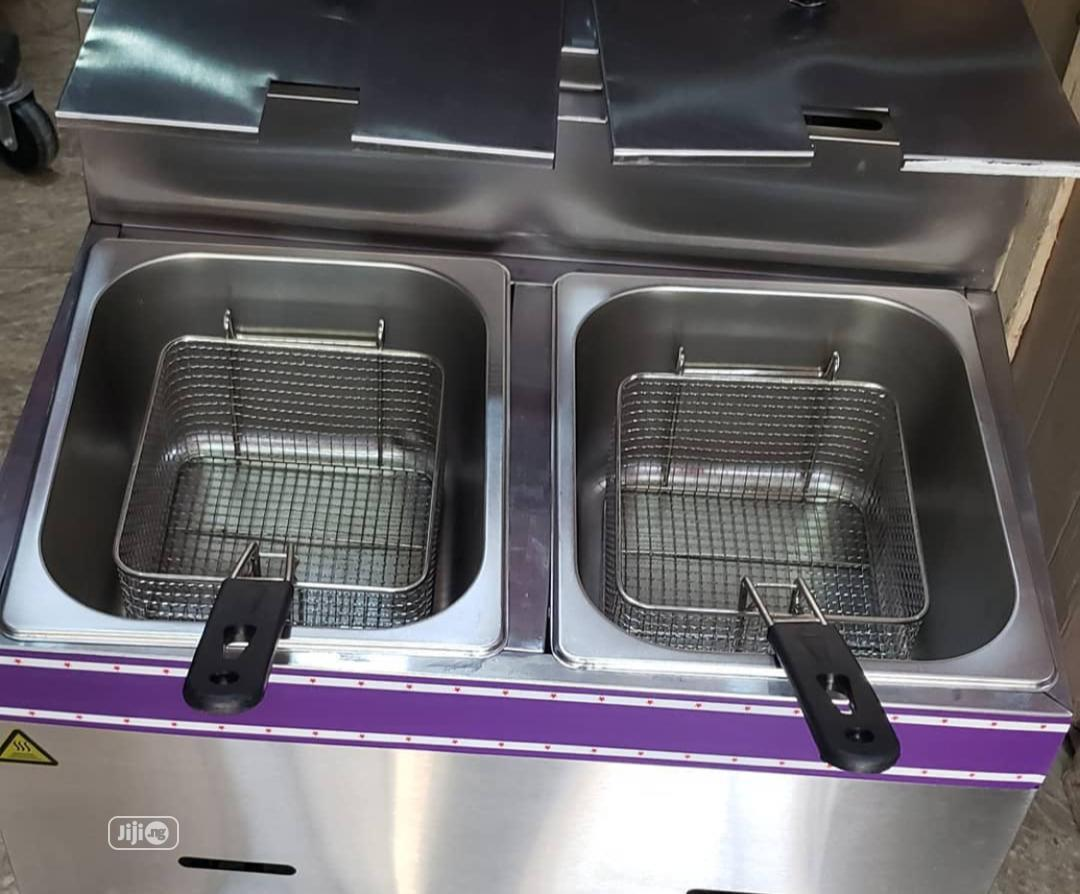 Archive: Table Top Double Tank Deep Gas Fryer