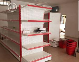 Single Sided Quality Supermarket Shelf | Store Equipment for sale in Lagos State, Ojo