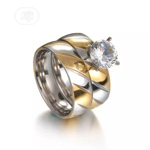Gold Plated Stainless Steel Wedding Rings For Couples | Wedding Wear & Accessories for sale in Ogun State, Abeokuta North