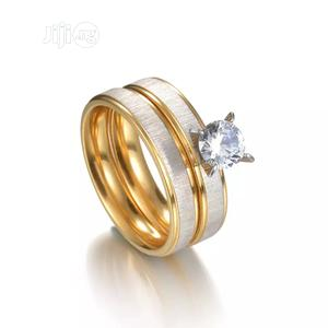 Gold Plated Stainless Steel Wedding Rings for Couple   Wedding Wear & Accessories for sale in Ogun State, Abeokuta North
