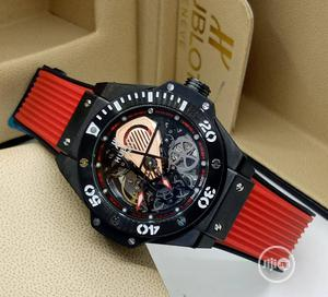 High Quality HUBLOT Rubber Strap Watch | Watches for sale in Lagos State, Magodo