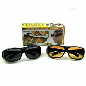 HD Vision 2in1 Day & Night Glasses | Safetywear & Equipment for sale in Lagos State, Abule Egba