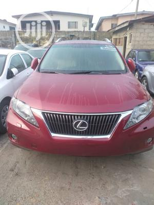 Lexus RX 2012 350 AWD Red | Cars for sale in Lagos State, Isolo