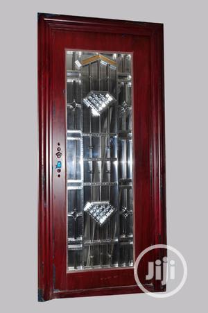 3 Ft Coloured Glass Door   Doors for sale in Lagos State, Eko Atlantic