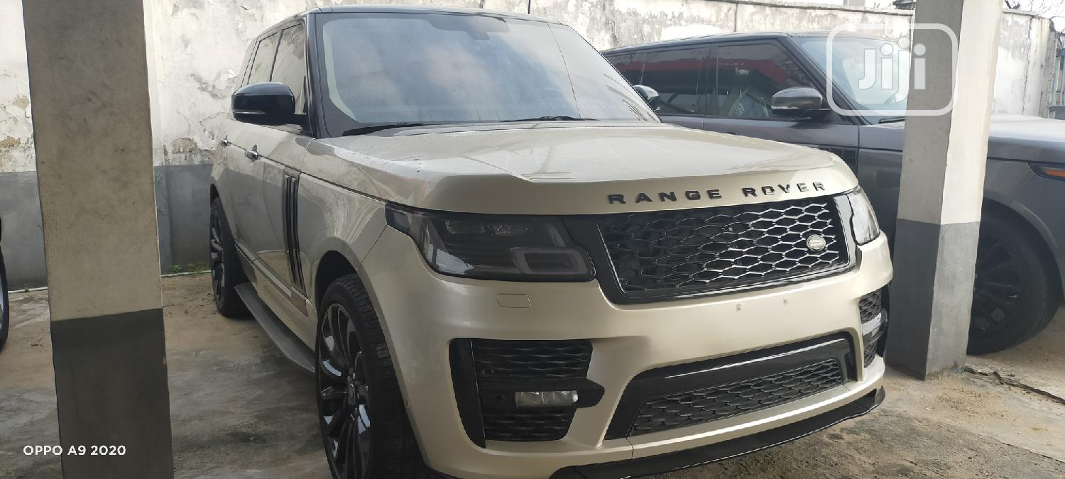 Land Rover Range Rover Vogue 2014 Gold   Cars for sale in Ikeja, Lagos State, Nigeria