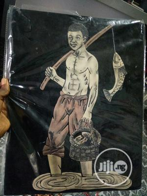 Handmade Artwork of a Fisherman   Arts & Crafts for sale in Lagos State, Ojodu