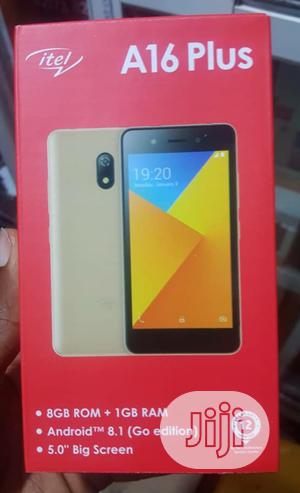 New Itel A16 Plus 8 GB Gold | Mobile Phones for sale in Lagos State, Ikeja