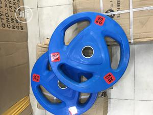 Olympic Barbell Plate | Sports Equipment for sale in Lagos State, Amuwo-Odofin