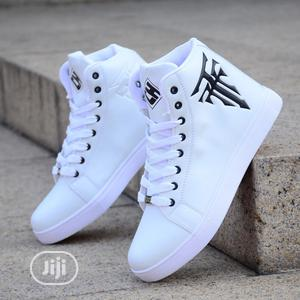 High Top Sneakers Shoe For Men Casual Shoe | Shoes for sale in Lagos State, Ajah