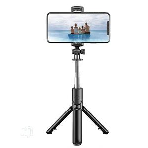 Bluetooth Selfie Stick With Tripod Stand | Accessories for Mobile Phones & Tablets for sale in Rivers State, Port-Harcourt