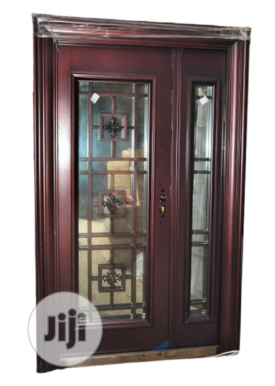 Archive: 4 Ft Copper Glass Door