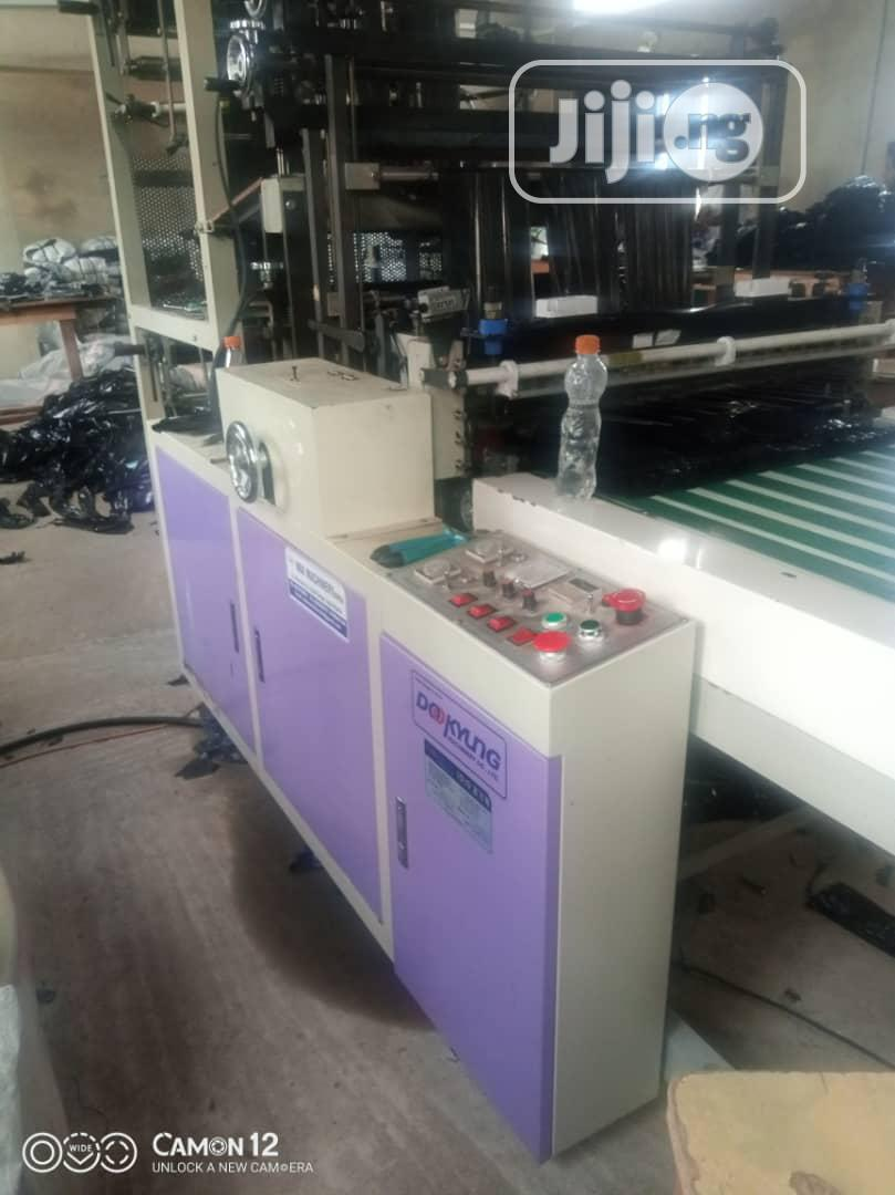 NSK Korea 900mm Model Double Decker Cutting/Sealing Machine