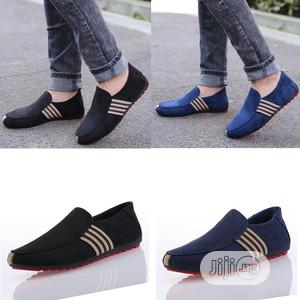 Men Casual Shoes Loafers Pu Leather Flats Moccasins Shoes   Shoes for sale in Lagos State, Ejigbo