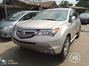 Acura MDX 2008 SUV 4dr AWD (3.7 6cyl 5A) Silver   Cars for sale in Lagos State, Apapa