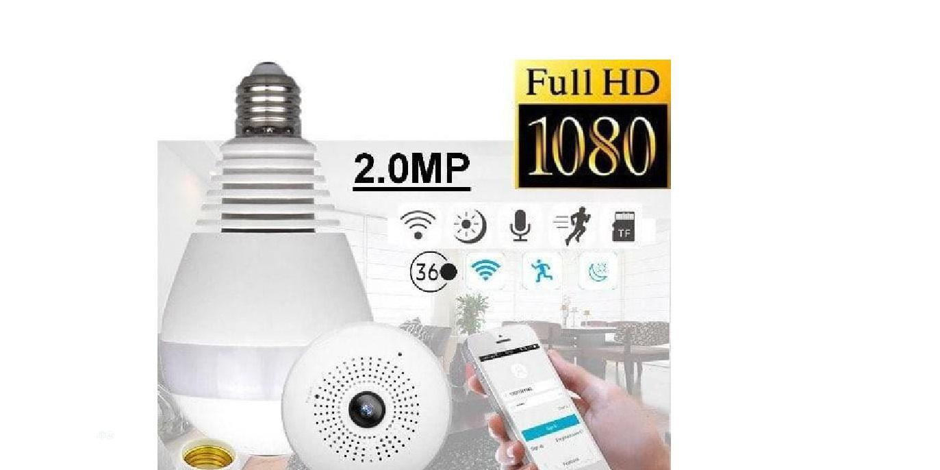 Winpossee Winpossee 2.0 Megapixel Smart Wifi BULB Cctv Camer   Security & Surveillance for sale in Ikeja, Lagos State, Nigeria