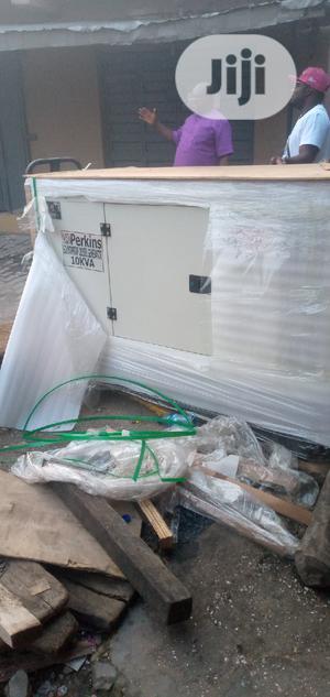 10KVA Perkins Sound Proof Diesel Generator | Electrical Equipment for sale in Lagos State, Apapa