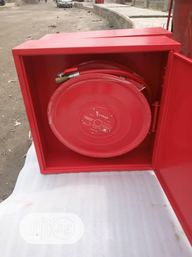 Fire Hose Reel With Cabinet | Safetywear & Equipment for sale in Apapa, Lagos State, Nigeria