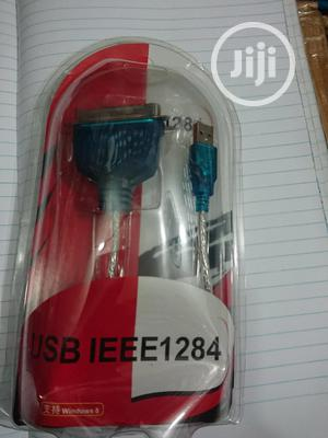 USB To Parallel Adapter | Accessories & Supplies for Electronics for sale in Lagos State, Ikeja