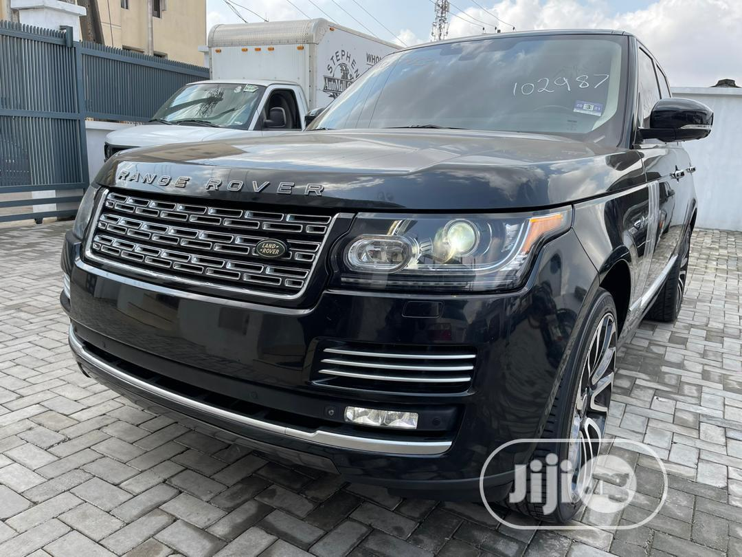Land Rover Range Rover Vogue 2014 Black   Cars for sale in Ikeja, Lagos State, Nigeria